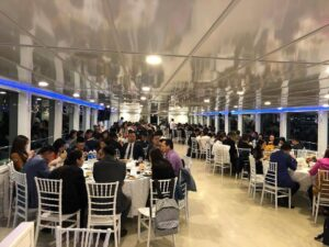 corporate events on bosphorus by private boat