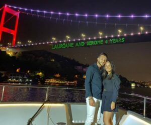 lazer show istanbul private yacht