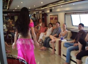 turkish belly dance on yacht