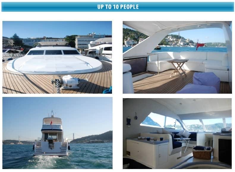 bosphorus yacht cruise tours